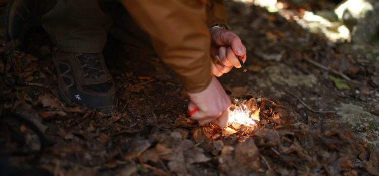 This Is How You Start a Fire With Sticks